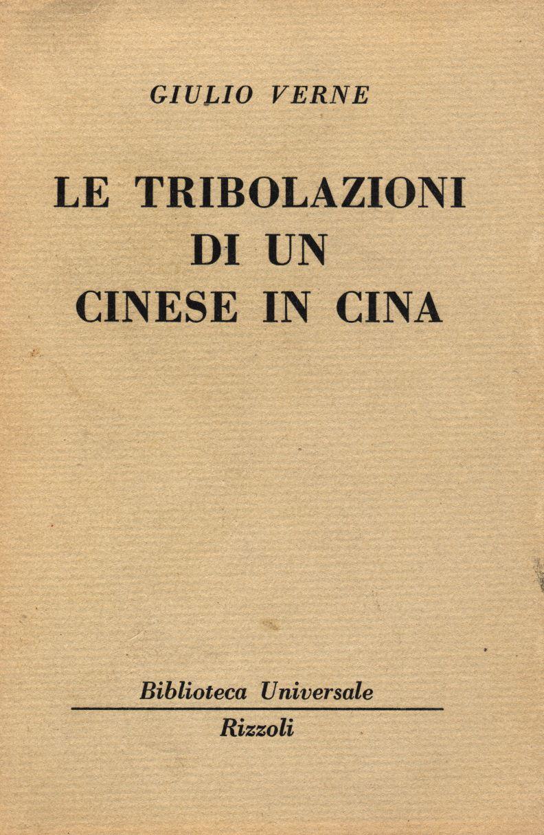 Le tribolazioni di un cinese in Cina