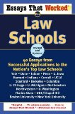 Essays That Worked for Law Schools