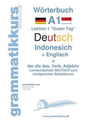 Wörterbuch Deutsch - Indonesisch - Englisch