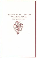 The English Text of the Ancrene Riwle