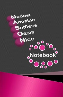 Modest Amiable Selfless Oasis Nice Notebook