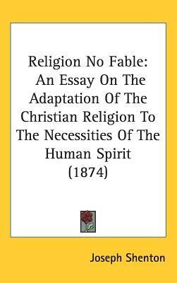 Religion No Fable