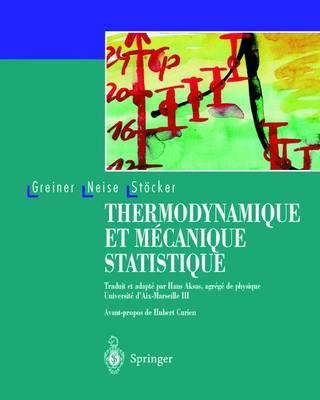 Thermodynamique Et Mcanique Statistique