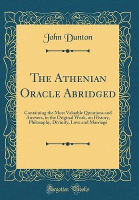 The Athenian Oracle ...