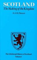 The Edinburgh History of Scotland Vol. 1