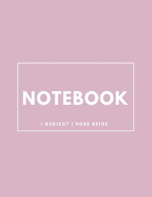 Notebook 1 Subject