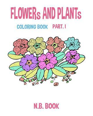 Flower and Plant Coloring Book