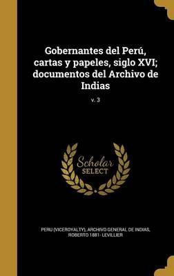 SPA-GOBERNANTES DEL PERU CARTA