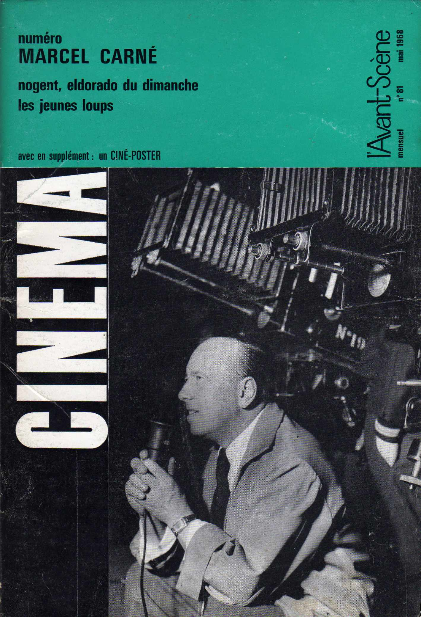 L'Avant-Scène du Cinèma n. 81