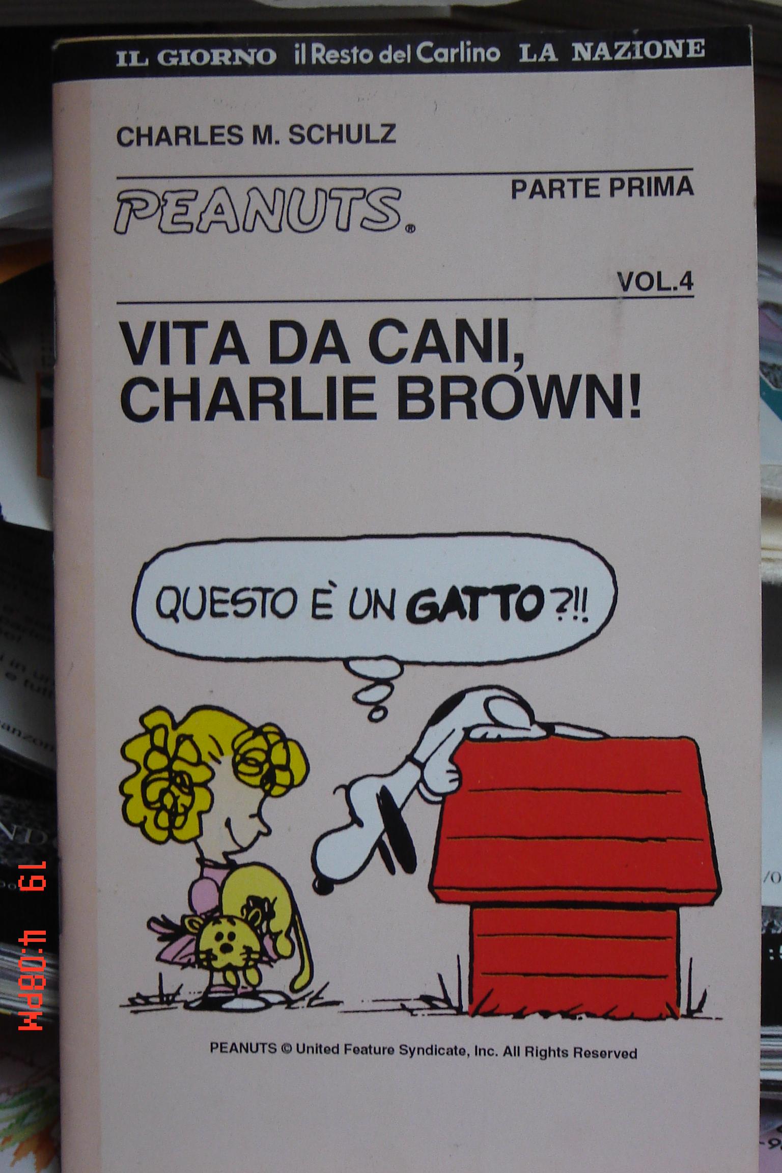 Vita da cani, Charlie Brown! Vol. 1