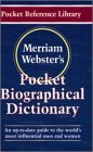 Merriam-Webster's Pocket Biographical Dictionary