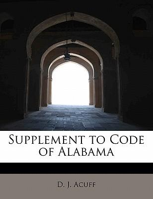 Supplement to Code of Alabama