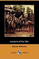Lessons of the War (Dodo Press)