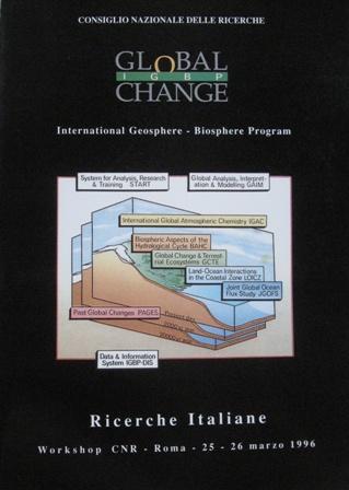 C.N.R. Programma Internazionale della Geosfera e Biosfera. Ricerche italiane.