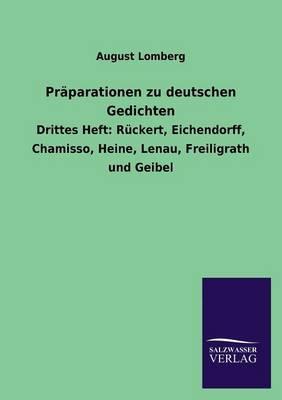 Präparationen zu deutschen Gedichten