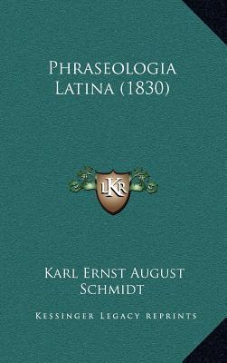 Phraseologia Latina (1830)