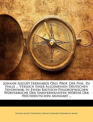 Johann August Eberha...