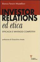 Investors relations ed etica