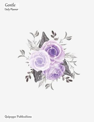 Gentle Daily Planner - Purple Bouquet