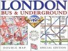 London Bus & Underground Popout Map