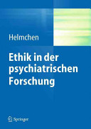 Ethik psychiatrischer Forschung