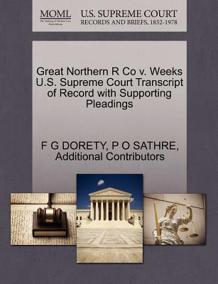 Great Northern R Co ...