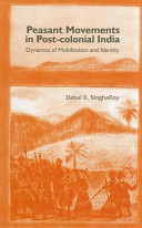 Peasants' Movements in Post-Colonial India