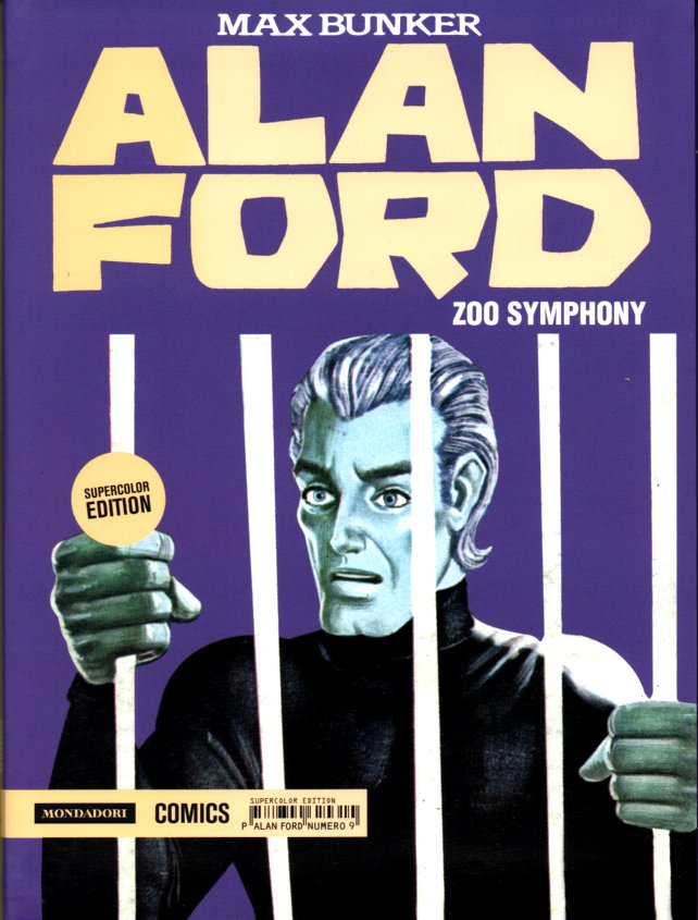 Alan Ford Supercolor Edition n. 9