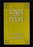 Stability of Drugs and Dosage Forms