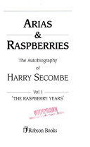 Arias and raspberries
