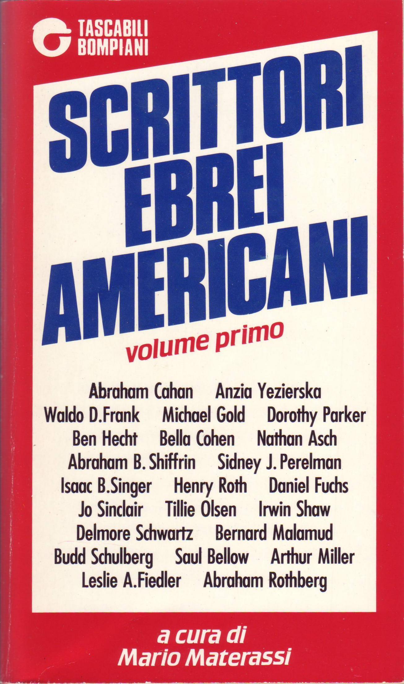 Scrittori Ebrei Amer...
