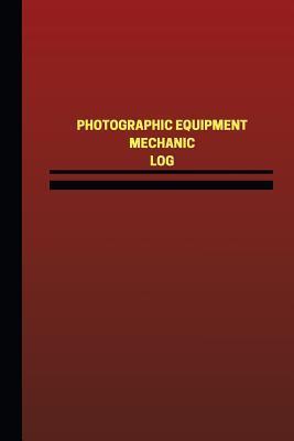 Photographic Equipment Mechanic Red Logbook