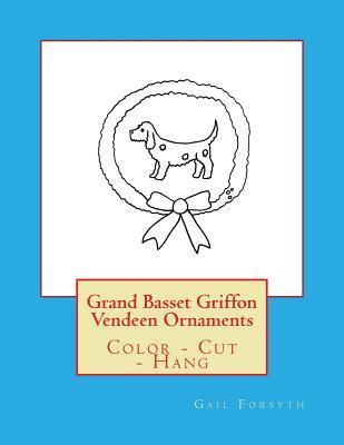Grand Basset Griffon Vendeen Ornaments