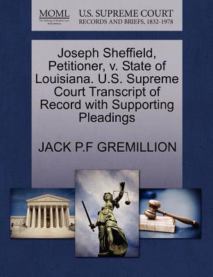 Joseph Sheffield, Pe...