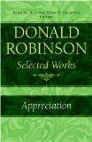 Donald Robinson. Appreciation