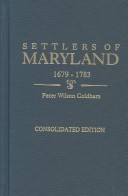 Settlers of Maryland, 1679-1783