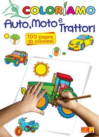 Coloriamo auto, moto e trattori