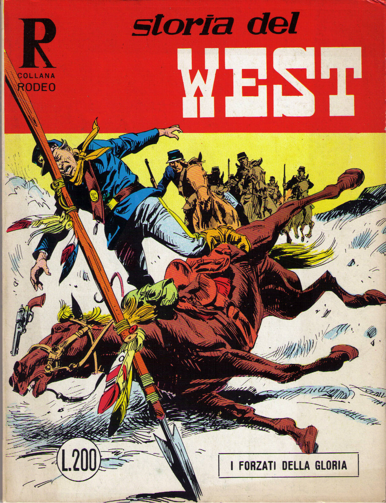 Storia del west n.24 (Collana Rodeo n.51)
