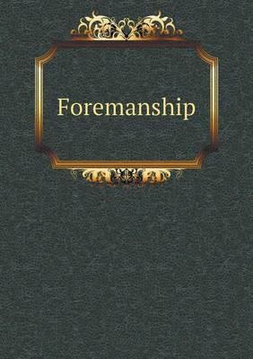 Foremanship