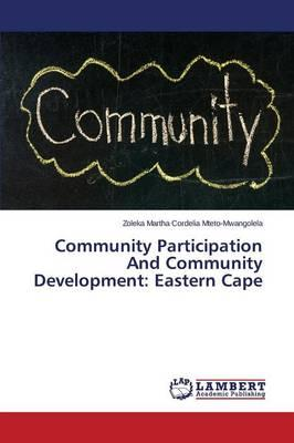 Community Participation And Community Development