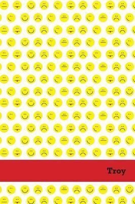 Etchbooks Troy, Emoji, College Rule