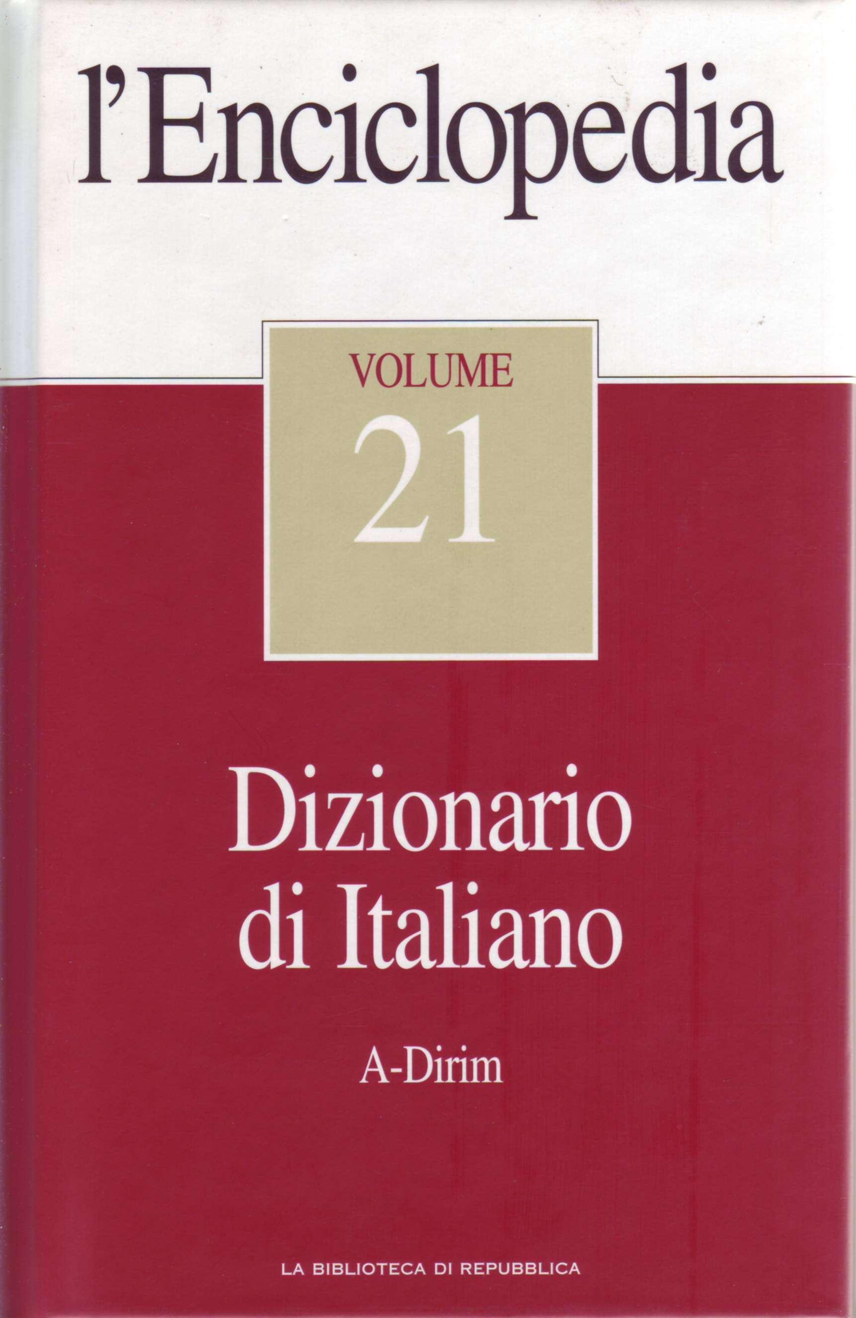 L'Enciclopedia - Vol. 21 - Dizionario di Italiano 1