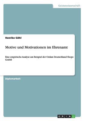 Motive und Motivationen im Ehrenamt