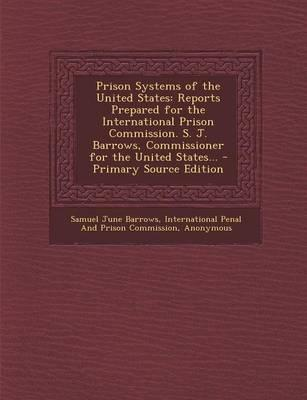 Prison Systems of the United States