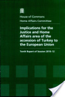 Implications for the Justice and Home Affairs Area of the Accession of Turkey to the European Union