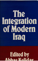 The Integration of Modern Iraq