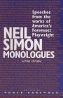 Neil Simon Monologues