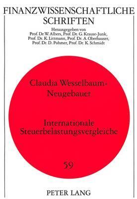 Internationale Steuerbelastungsvergleiche