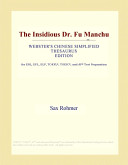 The Insidious Dr. Fu Manchu (Webster's Chinese Simplified Thesaurus Edition)