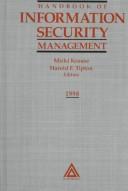 Handbook of information security management